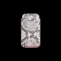 Natural White Python Phone Case