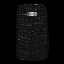 Black Crocodile Phone Case