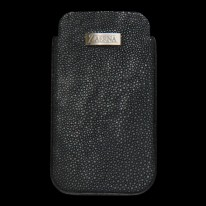Anthracite Gray Ray Fish - Shagreen Phone Case