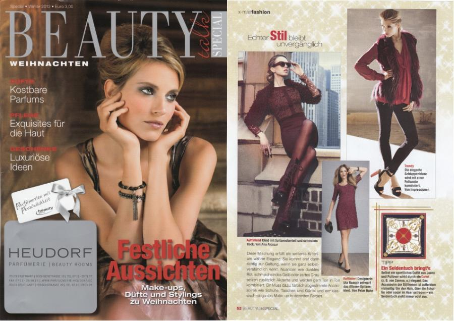 BEAUTY talk<br>SPECIAL<br>Winter 2012