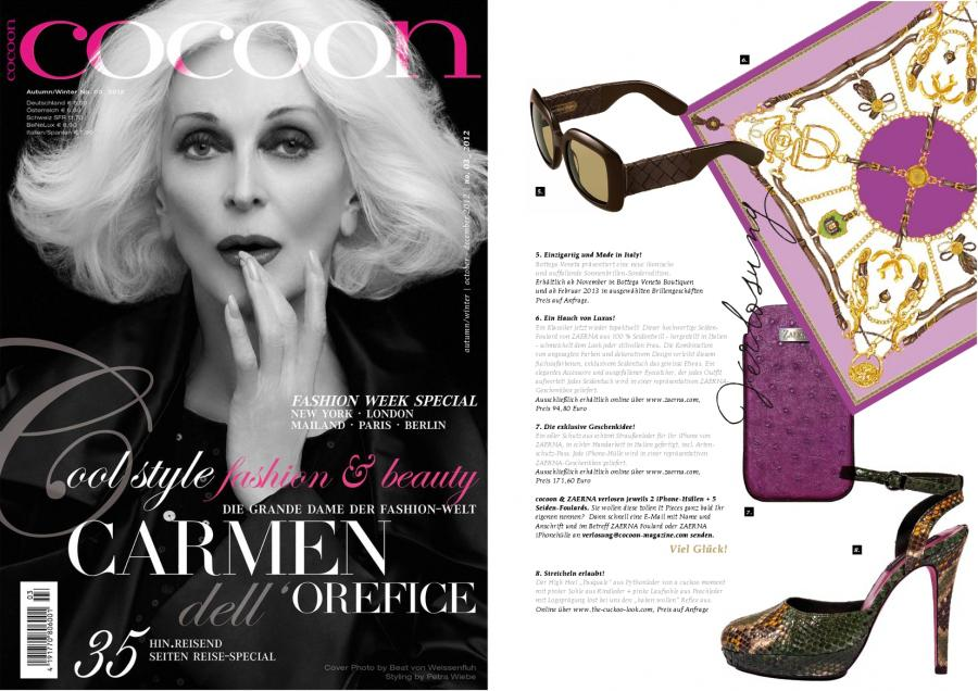cocoon<br>Autumn/Winter No. 03_2012<br>october - december 2012